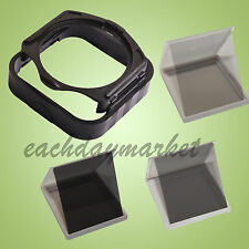 1x Square Lens Hoods + 1x Filter Holder + ND2 ND4 ND8 Filter for Cokin P-Series