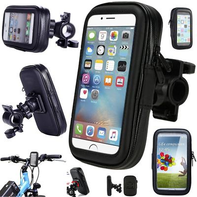 360° Bicycle Motor Bike Waterproof Phone Case Mount Holder For All Mobile Phones