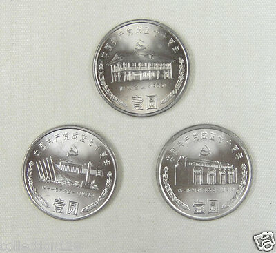 China Commemorative Coin With Folder 90th Founding Communist Party 2011