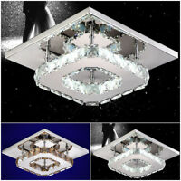 Crystal LED Flush Ceiling Light Pendant Lamp Fixture Lighting Chandelier Fashion