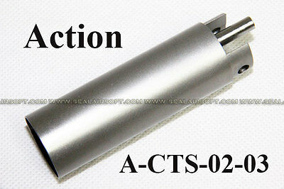 ACTION Stainless Steel One Piece Cylinder Set for Airsoft Toy Ver. 7 AEG Gearbox