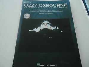 OZZY-OSBOURNE-034-AN-EXPLORATION-OF-HIS-MUSIC-034-LIBRO-CON-TABLATURE-HAL-LEONARD