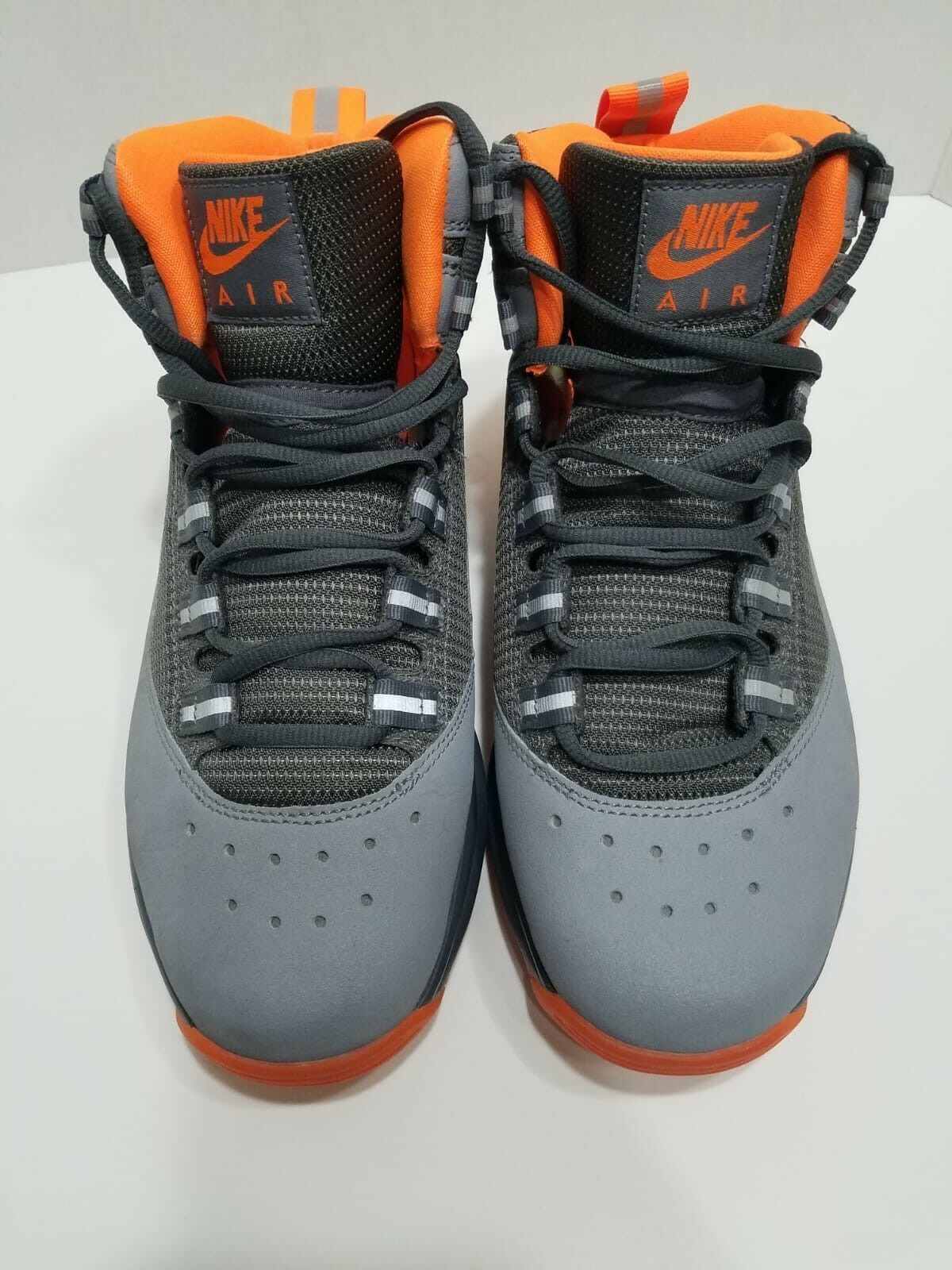 NIKE AIR MAX DARWIN 360 RODMAN Stealth Orange Grey (511492-018)  basketball sz 9