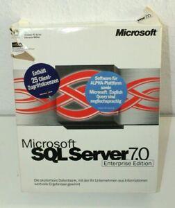 Microsoft SQL Server 7.0 - Enterprise Edition - Deutsch - 25 Cal - inkl. MwSt