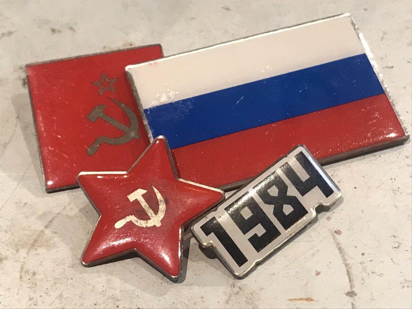 Gosha Rubchinskiy Pins / Badges ss16 Rare