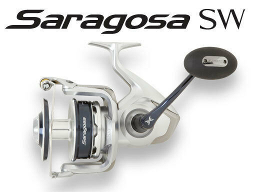 Shimano Saragosa 5000SW Spinning Reel - SRG5000SW. Free Shipping
