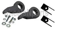 Lift Kit Chevy Torsion Key & Shock Extender 1999 - 06 1500 4x4 Truck 6 Lug Black