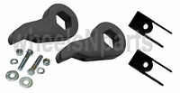 Lift Kit Chevy Torsion Key & Shock Extender 1999 - 06 1500 4x4 Truck 6 Lug Black