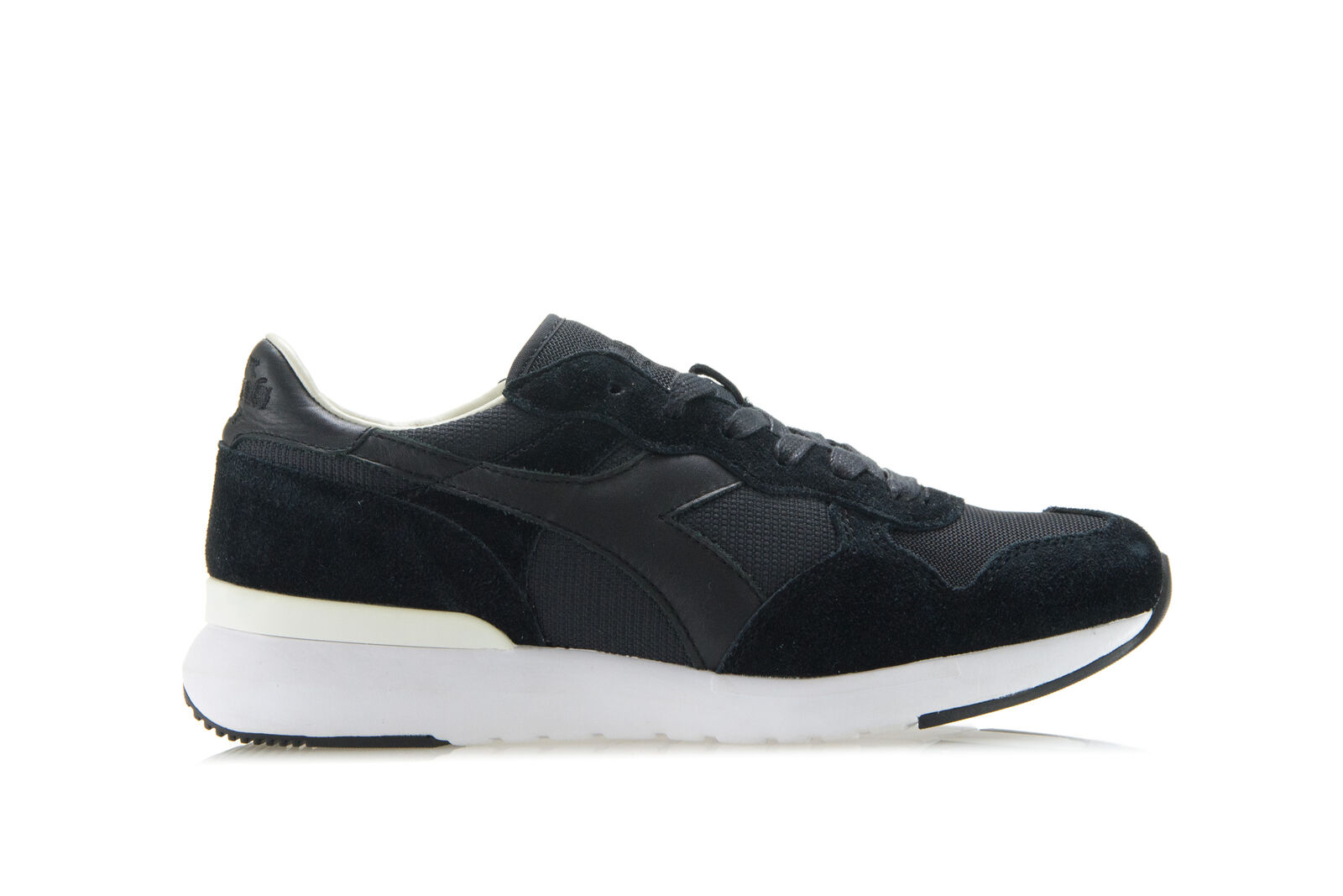 DIADORA HERITAGE Mens Womens Sneakers shoes TRIDENT EVO Black Suede Trainers