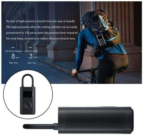 Xiaomi pompe air électrique Mijia Gonfleur rechargeable 150PSI Smart Digital Pompe