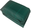 thumbnail 2 - Green 125gsm 2M Wide Heavy Duty Weed Fabric Various Lengths + Pegs Option