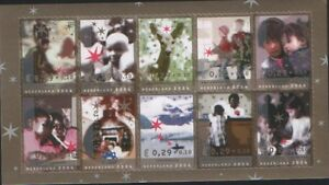 Nederland-NVPH-2306-15-Vel-Decemberzegels-2004-Goede-Doelen-half-vel-Postfris