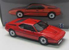 BMW M1 Street ( 1978 ) rot / Norev 1:18