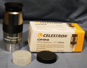 CELESTRON-40mm-OMNI-1-1-4-PLOSSL-EYEPIECE-NEW-IN-BOX