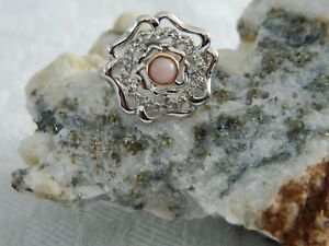 Clogau-Silver-amp-9ct-Welsh-Gold-Tudor-Rose-Ring-RRP-129-00-size-M