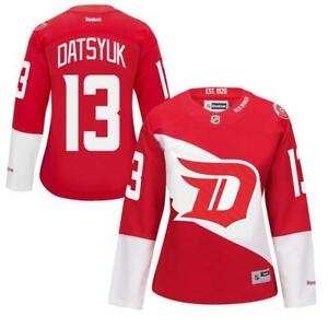 new concept 0f575 a27af Image is loading New-Pavel-Datsyuk-Detroit-Red-Wings-Womens-Sizes-
