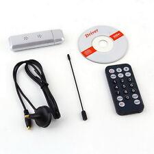 USB 2.0 DVB-T Digital TV Receiver HDTV Tuner Dongle Stick Antenna IR Remote RX