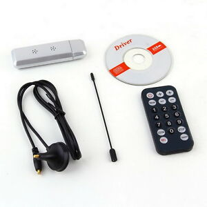 usb 2.0 dvb t digital tv receiver hdtv tuner dongle stick