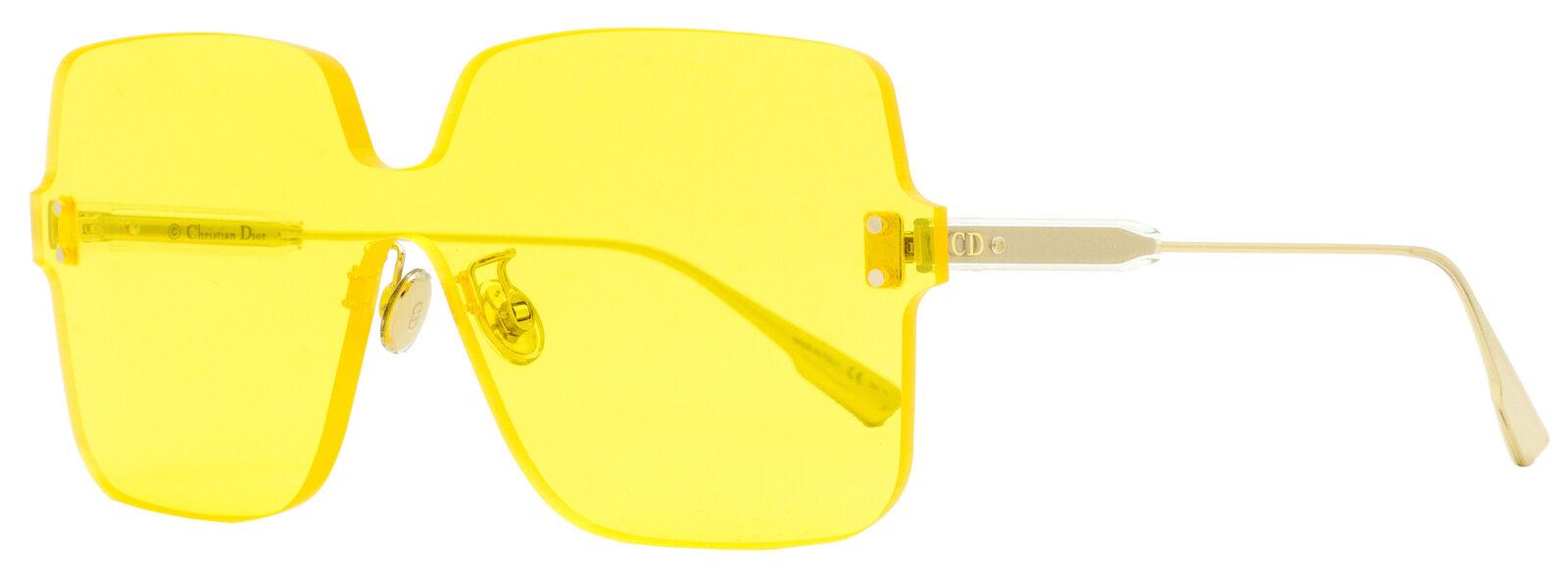 Dior Square Sunglasses ColorQuake 1 40GHO Gold 99mm