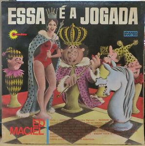 """ED MACIEL 1972 """"ESSA E A JOGADA"""" LATIN FUNK JAZZ GROOVE BREAKS LP BRAZIL HEAR"""