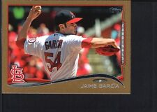 JAIME GARCIA 2014 TOPPS MINI #164 GOLD PARALLEL CARDINALS SP #54/63