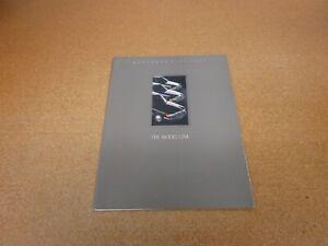 1990 Mercedes European Delivery Brochure 190 300 E D SE SL TE 500SL 560 SEL SEC