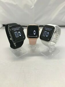 Apple Watch Series 4 Gps 40 44mm Aluminum Case Select Band Color And Size Ebay