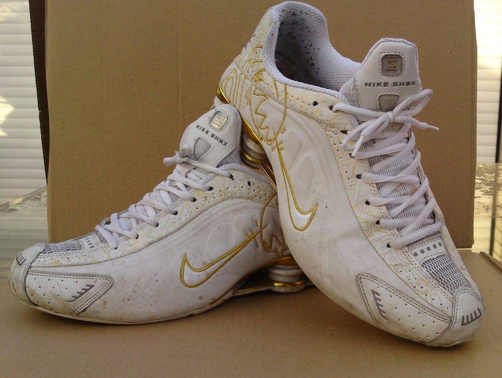 L'Original NIKE SHOX-limitatifs Spécial Edition-Taille UE 46-US 12- Chaussures de sport pour hommes et femmes