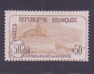 FRANCE-N-153-034-ORPHELINS-50c-50c-034-NEUF-xx-TB