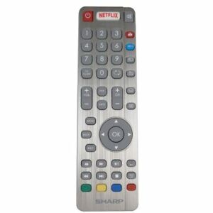 Genuine-Sharp-LC-40CFG6021K-TV-Remote-Control