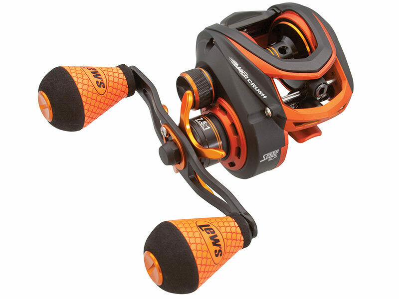 LEW'S MACH CRUSH BAITCAST REEL MC1SH RIGHT HeED RECONDITIONED