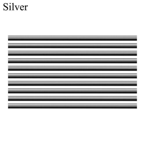 10X Car Air Conditioner Outlet Vent Grille Decor U Shape Molding Trim Strip CP