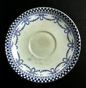 Ant-Saucer-Morfenix-Ware-Hanley-Zenith-c1890-Very-Rare-FREE-Delivery-UK