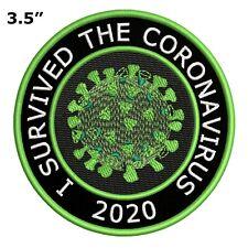 BIOHAZARD SYMBOL embroidered PATCH ZOMBIE YELLOW new w// VELCRO® Brand Fastener