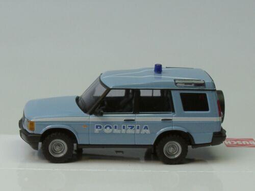 Busch LAND ROVER DISCOVERY consigliera//polizia Italia 51914-1:87