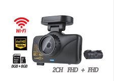 LUKAS LK-7950 Duo Wi-Fi Dash Camera 2CH FHD English ver. Dual 8GB+8GB w/out GPS