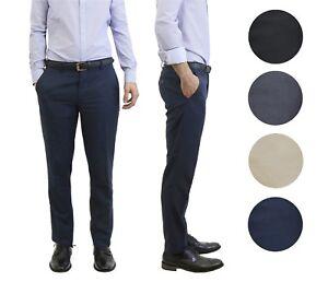 20321df0cf Mens Belted Slim Fit Dress Pants Flat Front Multiple Colors Mens ...