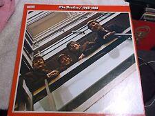 The Beatles Albums 1962-1966-  Red apple  2 lps 3403---vinyl nm-    clean