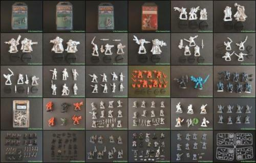 Multi - liste 2008 metall warhammer fantasy & 40k sci - fi - job viel zahlen