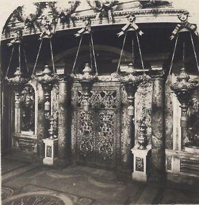 Roma Vaticano Tombeau De St Pierre Italia Stereo Vintage Analogica