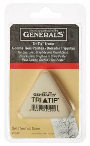 General-Pencil-Co-Tri-Tip-Soft-Eraser-For-Charcoal-Graphite-amp-Pastel-Chalk