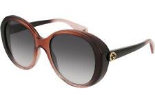 3e7c4e57ff artículo 4 Gucci Mujer Gafas de Sol Ovalado Acetato GG0368S-003 Marrón/Gris  Degradado -Gucci Mujer Gafas de Sol Ovalado Acetato GG0368S-003 Marrón/Gris  ...