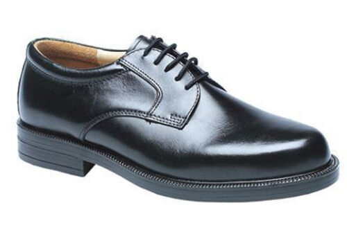 Mens Wide Fitting Shoes EE Smart Leather Formal Work Gibson Shoes UK 6-14