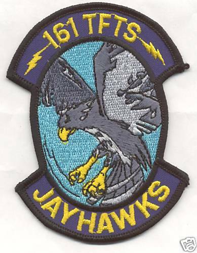 161st TAC FIGHTER TRAINING SQUADRON patch