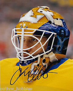 Sweden-Jacob-Markstrom-Signed-Autographed-8x10-Photo-COA-B