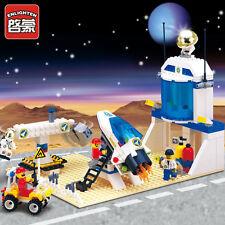NEW ENLIGHTEN International AeroSpace Station Astronaut Blocks Minifigures Toys