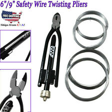 New 9' 'Aircraft Safety Wire Twisting Pliers Set Lock Twist Twister Electrical