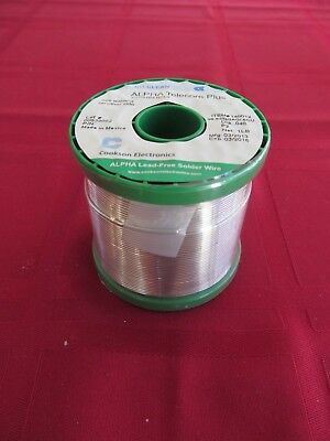 No-Clean Lead Free Solder 1 lb Alpha Telecore Plus J-STD-004-ROL0 .040 Dia