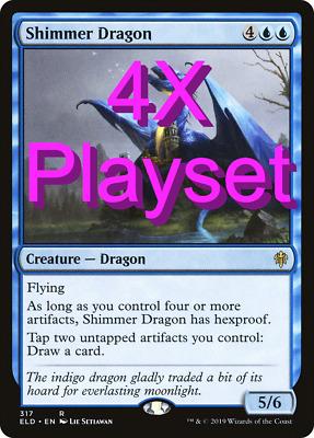 4X Hushbringer Playset Throne of Eldraine ELD MTG Magic the Gathering NM