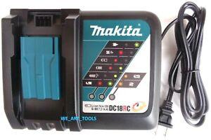 GENUINE-Makita-DC18RC-18V-Rapid-Battery-Charger-18-Volt-4-BL1830-BL1840-BL1850